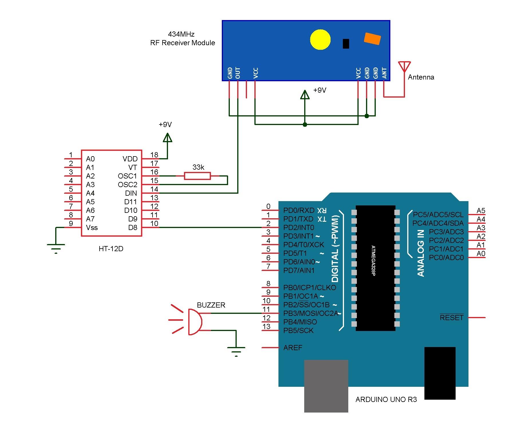 Am 0222 Wiring A Wireless Doorbell Schematic Wiring