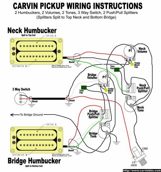 Carvin Guitar Wiring Diagrams