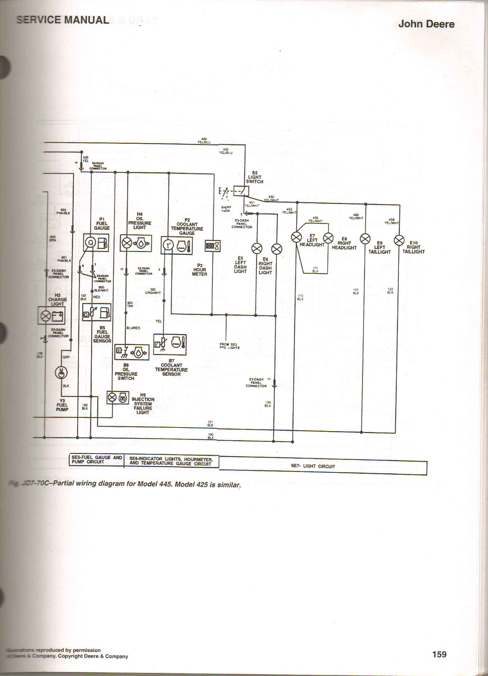 Magnificent John Deere 425 Tractor Wiring Diagrams Basic Electronics Wiring Wiring Cloud Overrenstrafr09Org