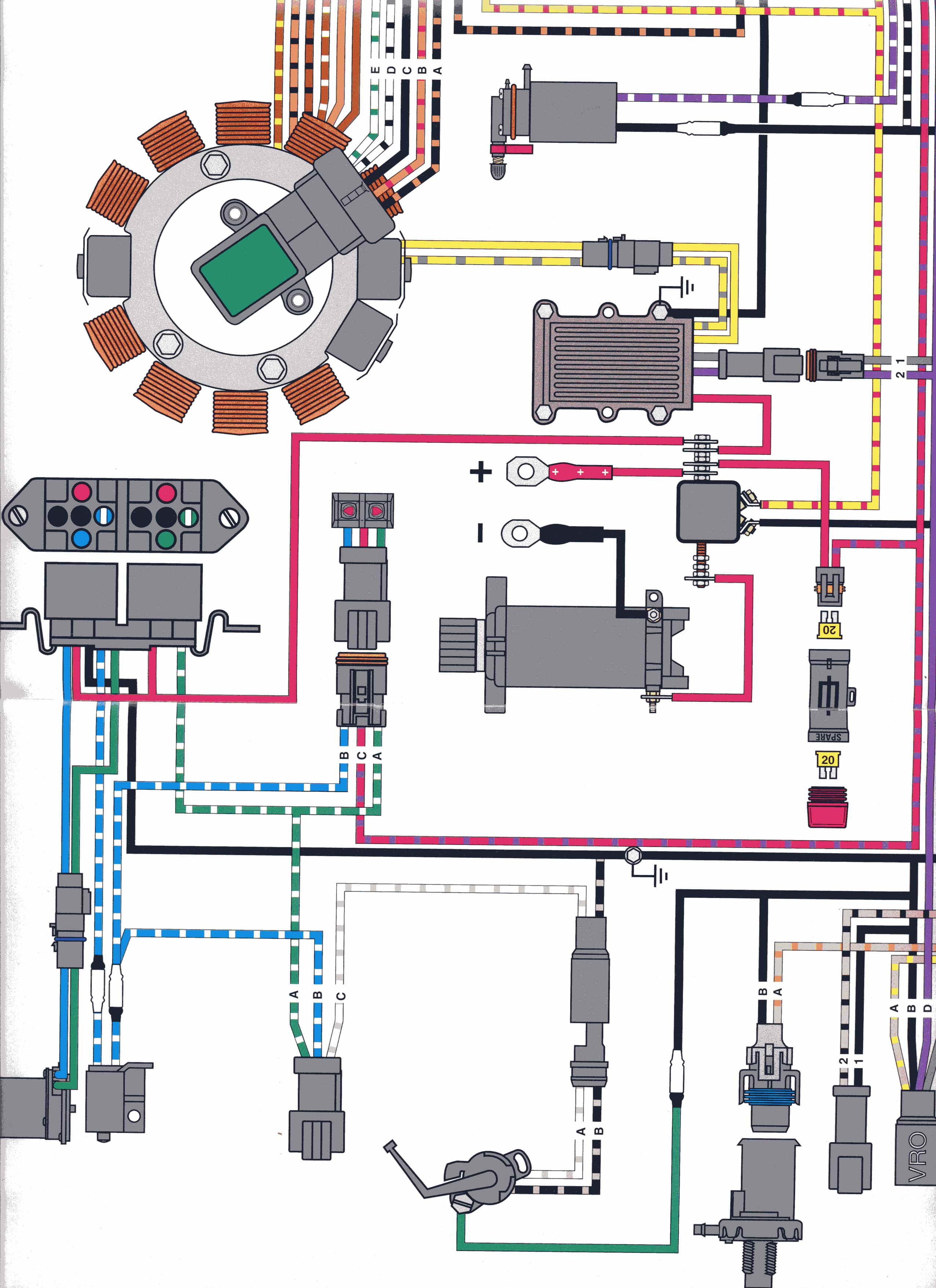 johnson 90 hp wiring diagram gr 8608  35 hp johnson wiring diagram  gr 8608  35 hp johnson wiring diagram