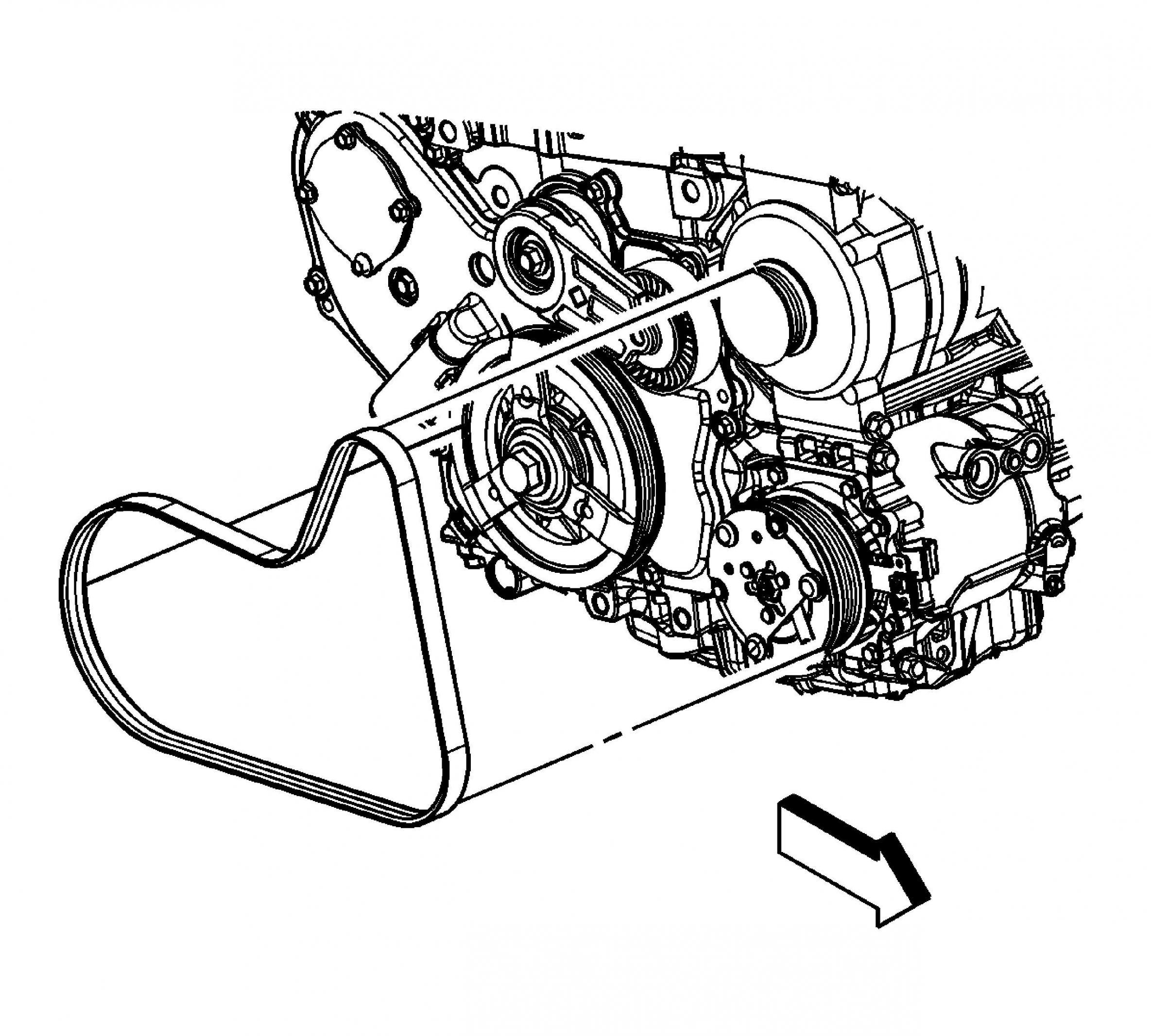 chevy 4 3 engine diagram la 1875  chevrolet 3 4 engine serpentine belt diagrams free diagram  chevrolet 3 4 engine serpentine belt