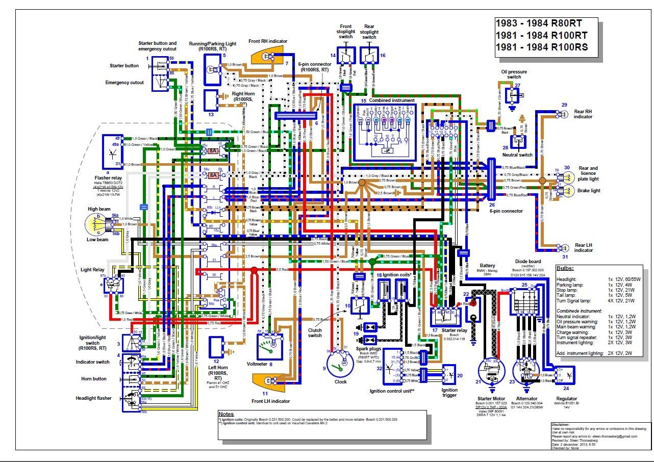 Marvelous Bmw K 1100 Wiring Diagram Basic Electronics Wiring Diagram Wiring Cloud Overrenstrafr09Org