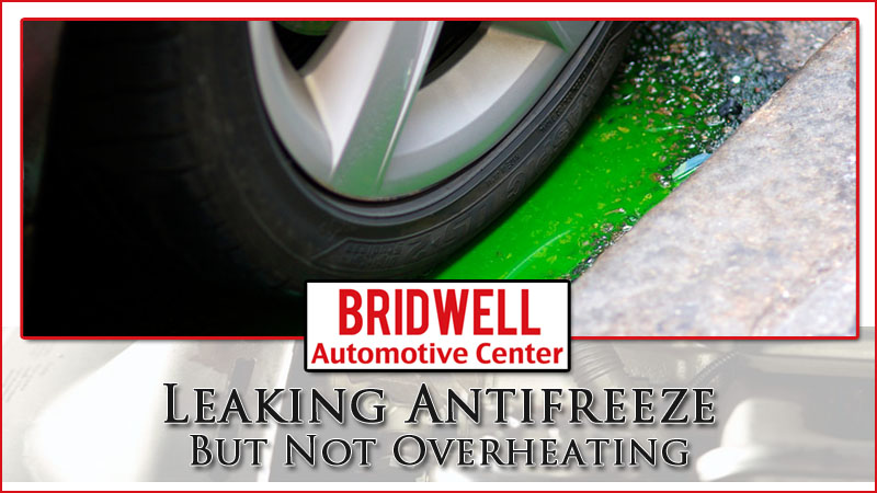 Marvelous Leaking Antifreeze But Not Overheating Coolant Leak Causes Bridwell Wiring Cloud Gufailluminateatxorg