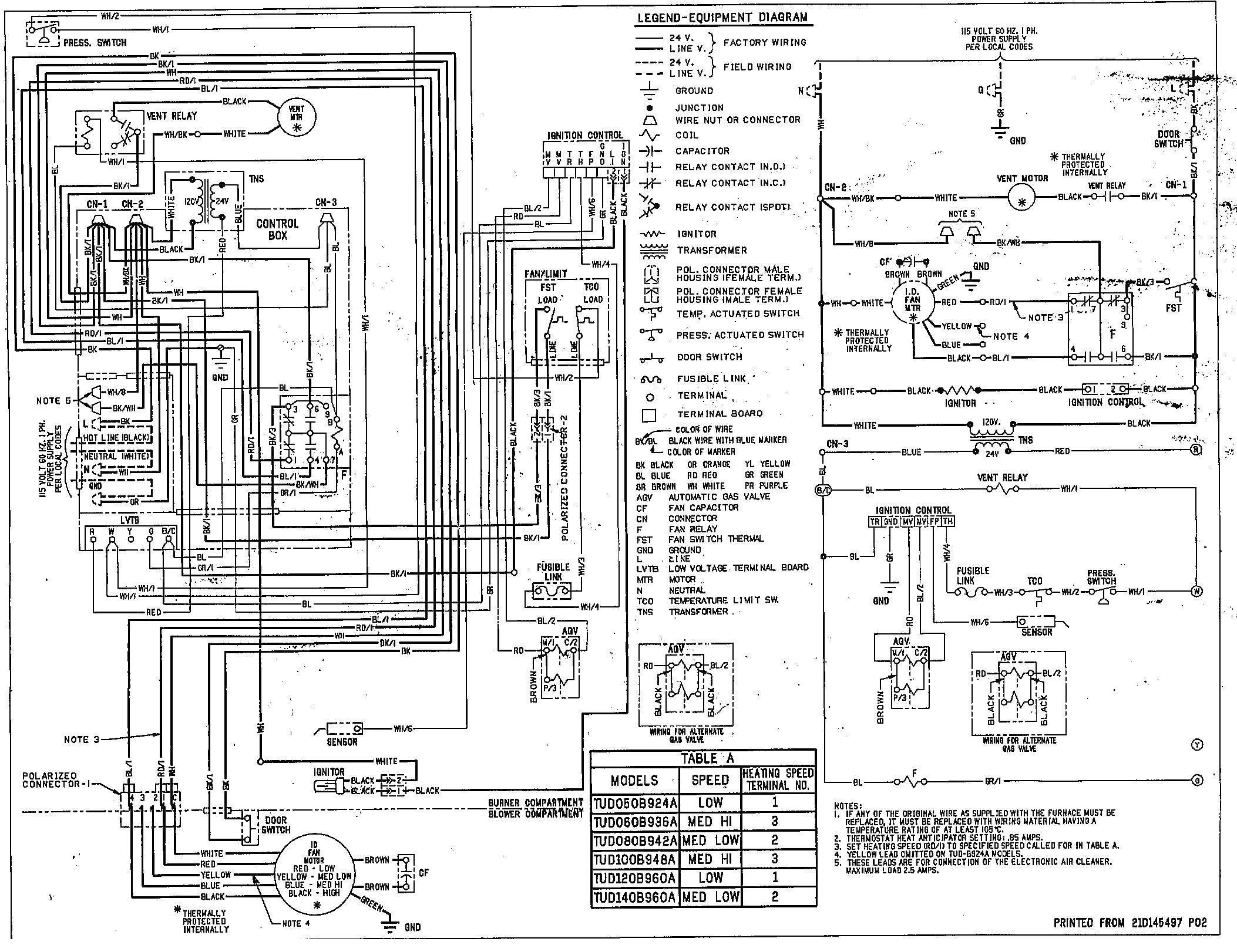 LR_2968] Trane Air Conditioner Wiring Diagram View Also Trane Furnace Wiring  Schematic WiringUnho Kapemie Mohammedshrine Librar Wiring 101