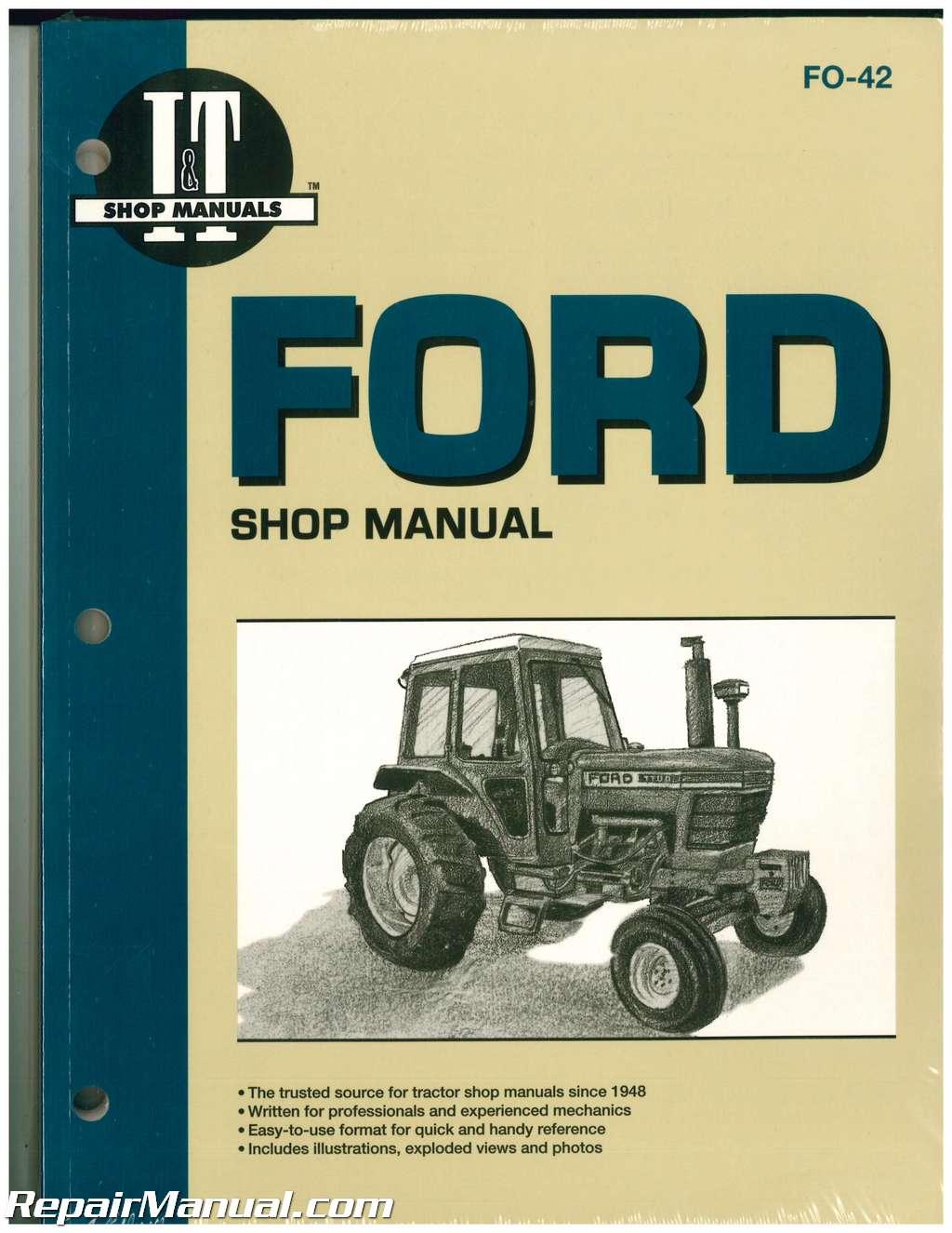 2610 thru 7710 CD !! Ford Tractor 10 30 Series Service Manuals 2600 thru 7700