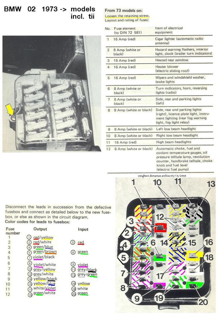 NV_8263] 1974 Bmw 2002 Tii Wiring Diagram Download Diagram