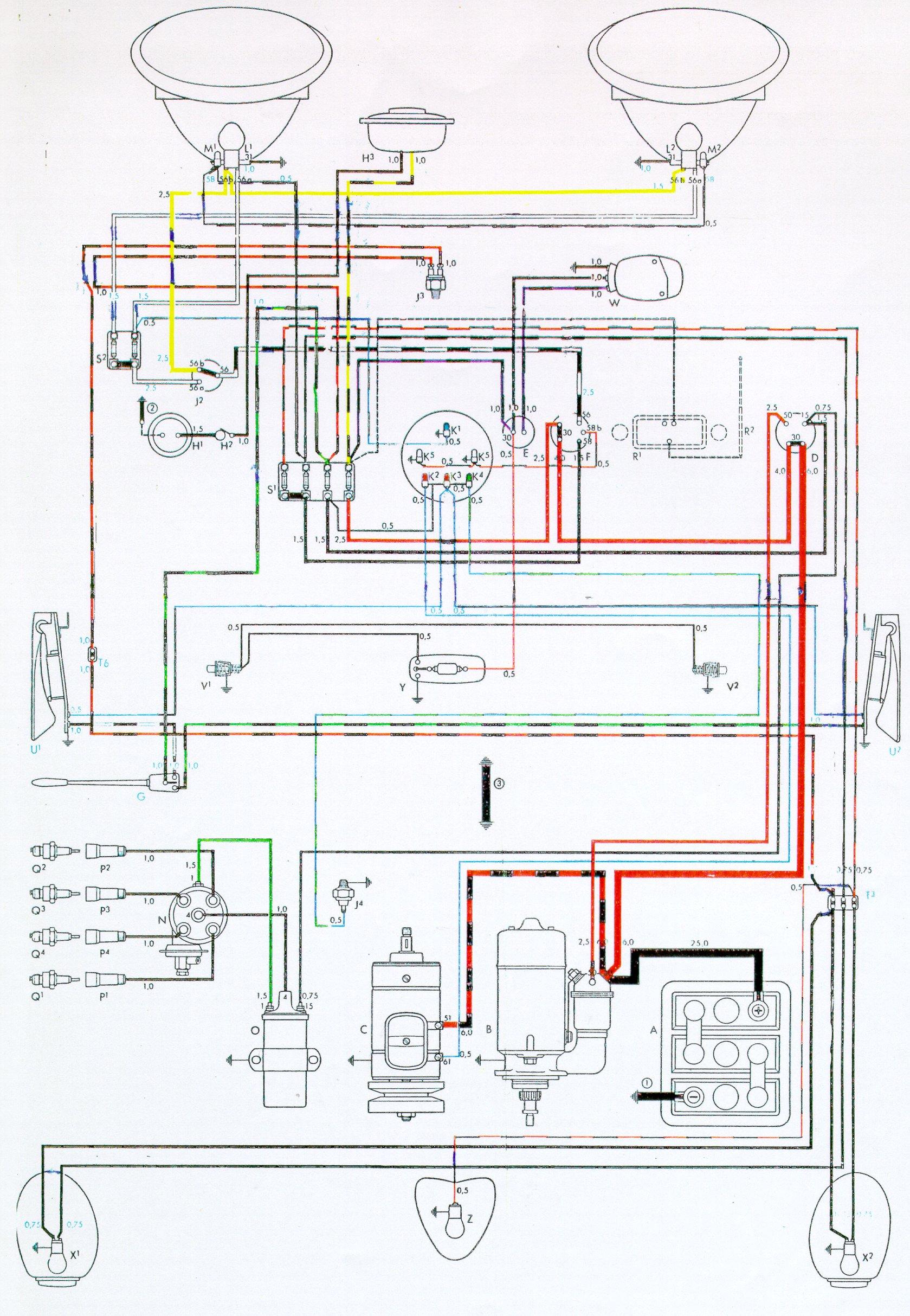 Surprising Vintagebus Com Vw Bus And Other Wiring Diagrams Wiring Cloud Licukshollocom