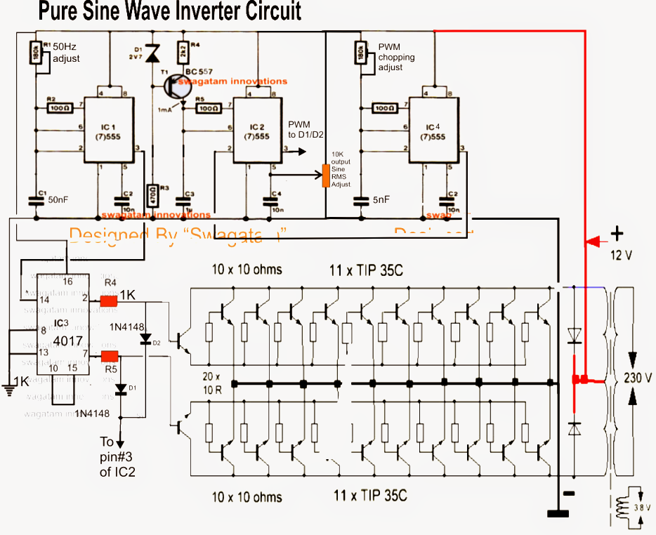 Fantastic 7 Modified Sine Wave Inverter Circuits Explored 100W To 3Kva Wiring Cloud Xempagosophoxytasticioscodnessplanboapumohammedshrineorg