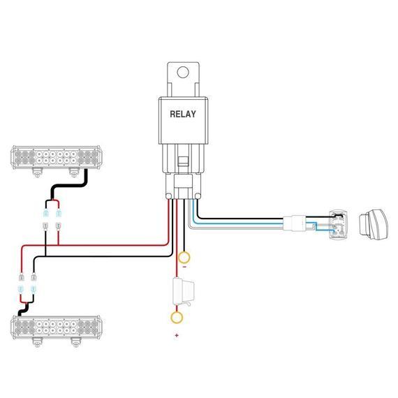 Ye 7335 Led Light Bar Wiring Diagram Switch Free Diagram