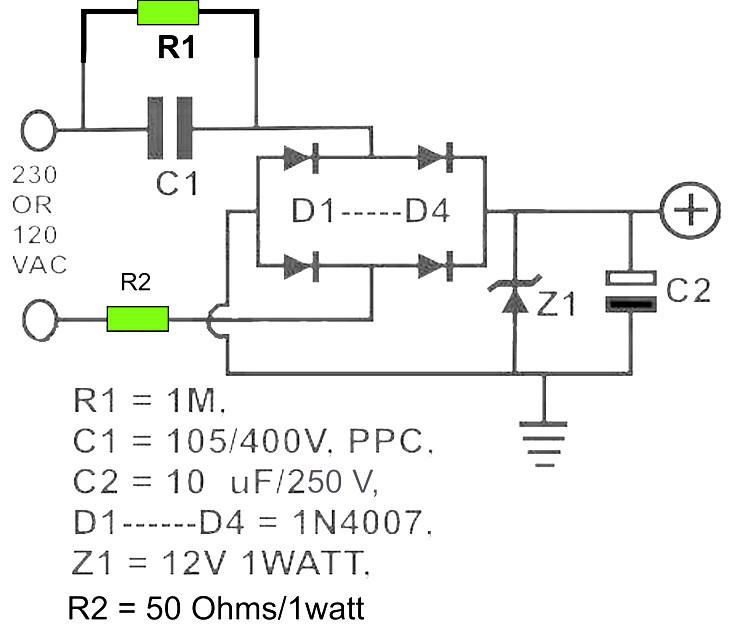 Phenomenal 12V Dc Power Supply Without Transformer Power Supply Circuits Wiring Cloud Gufailluminateatxorg