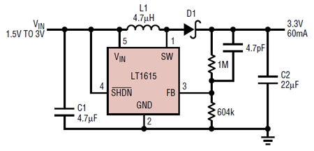 Prime Voltage Regulator Stepping Up 3V To 5V Electrical Engineering Wiring Cloud Gufailluminateatxorg