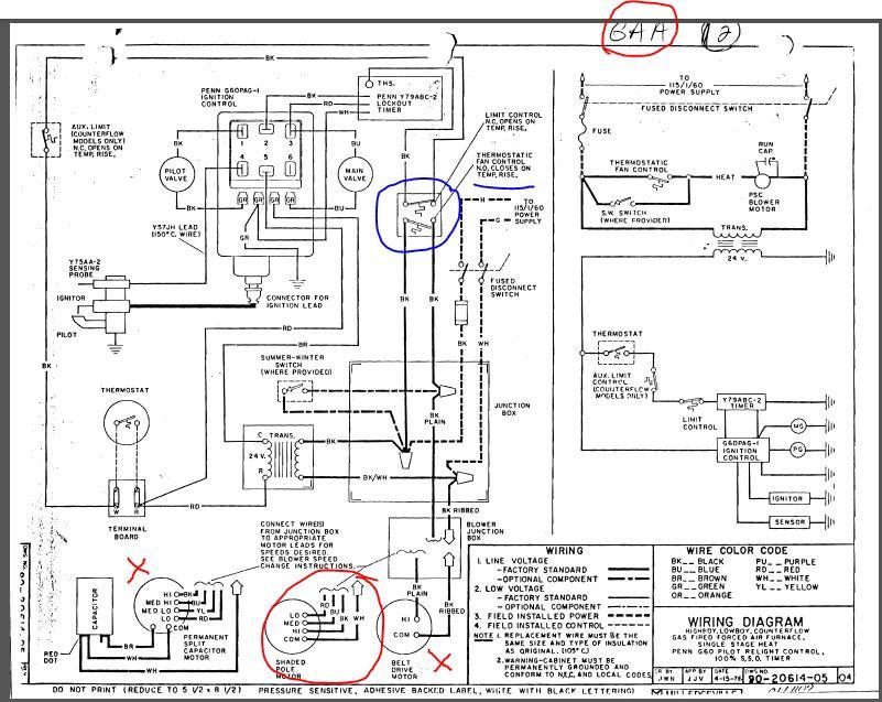 wiring diagram older furnace vs 5822  gasfurnacewiringdiagram gas furnace diagram furnace  gasfurnacewiringdiagram gas furnace