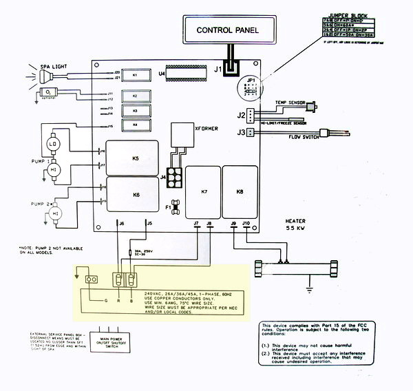 Excellent Hot Tub Wiring Diagram Wiring Cloud Dulfrecoveryedborg