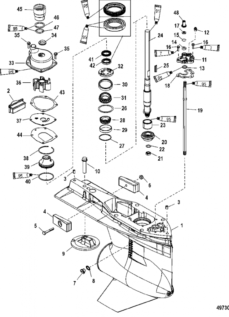 Stupendous Outboard Motor Diagram Basic Electronics Wiring Diagram Wiring Cloud Mousmenurrecoveryedborg
