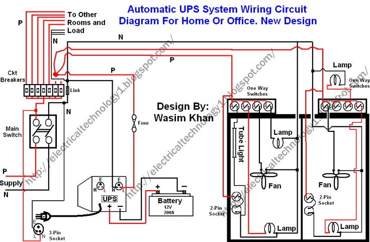 Tf 6459 Ups System Wiring Circuit Diagram For Home Or Office New Design Download Diagram