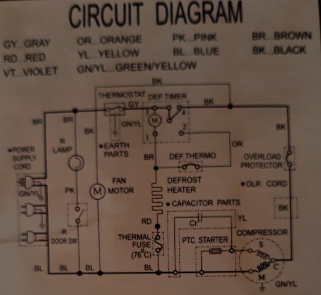 ZL_9846] No Frost Refrigerator Wiring DiagramStica Phae Mohammedshrine Librar Wiring 101