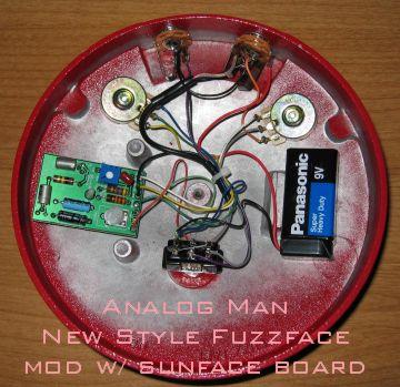 nv9086 reissue germanium fuzz face circuit board schematic