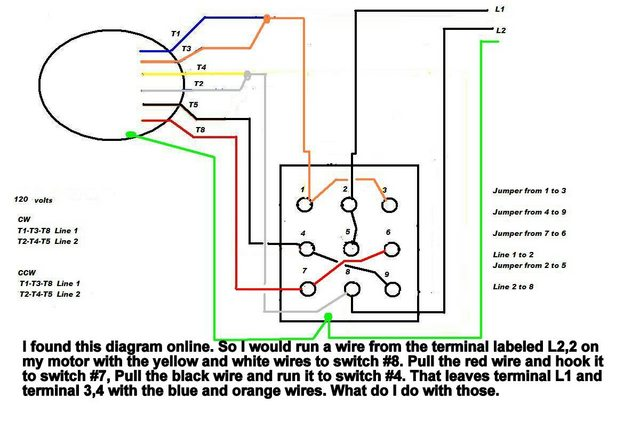 Awesome Thread Wiring A Single Phase Motor To Drum Switch Wiring Diagrams Wiring Cloud Icalpermsplehendilmohammedshrineorg