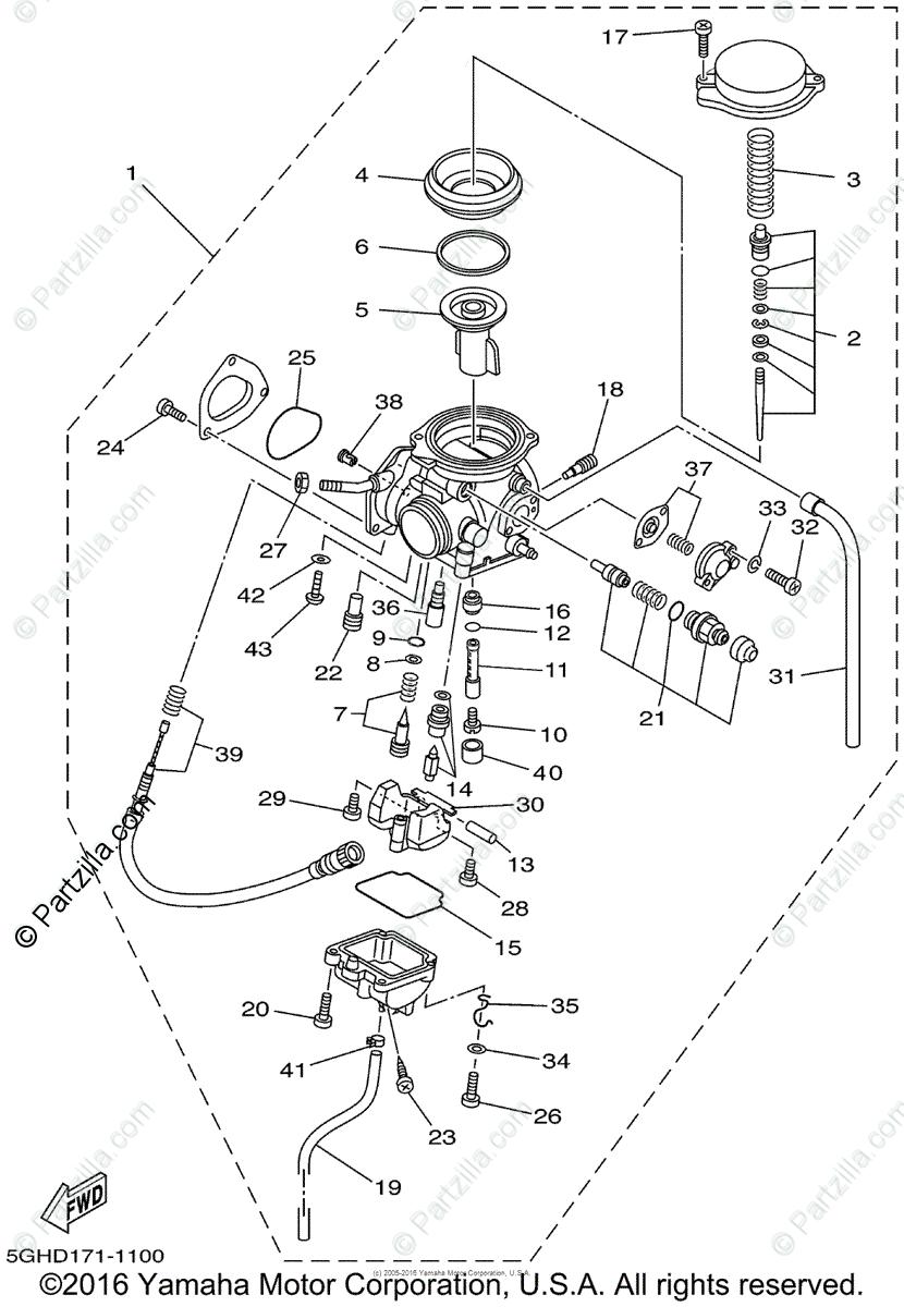 Oy 6314 Diagram Of 2002 Kodiak 4wd Yfm400fap Yamaha Atv Carburetor Diagram Free Diagram