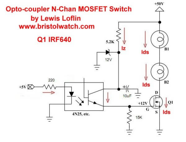 Astonishing High Voltage Mosfet Switching Circuits Wiring Cloud Rometaidewilluminateatxorg