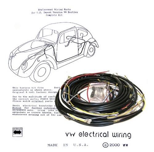 Superb Wiring Works Wiringworks Vw Bug Replacement Wiring Harness Wire Wiring Cloud Rometaidewilluminateatxorg