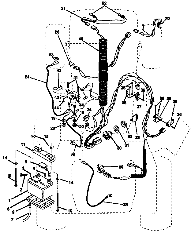 ek1764 wiring diagram diagram and parts list for craftsman