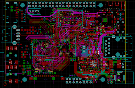 Nr 9430 Pcb Copy Board Electronic Product Design Simulation Circuit Board Free Diagram