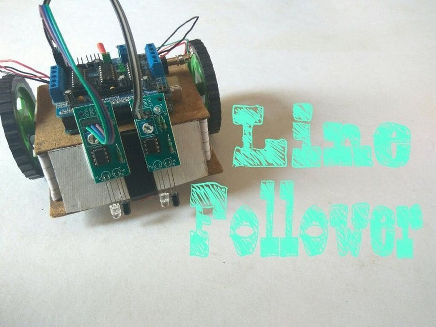 Peachy Simple Line Follower Robot Arduino Project Hub Wiring Cloud Eachirenstrafr09Org