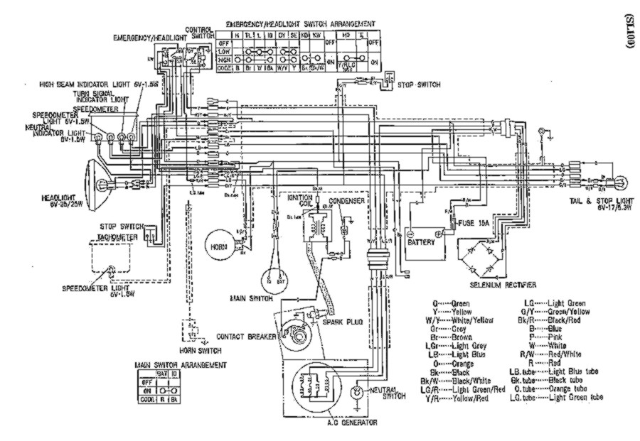 Er 4495 Image About Wiring Diagram Furthermore 1974 Honda