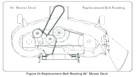 Vr 9913 Belt Diagram Mower Deck