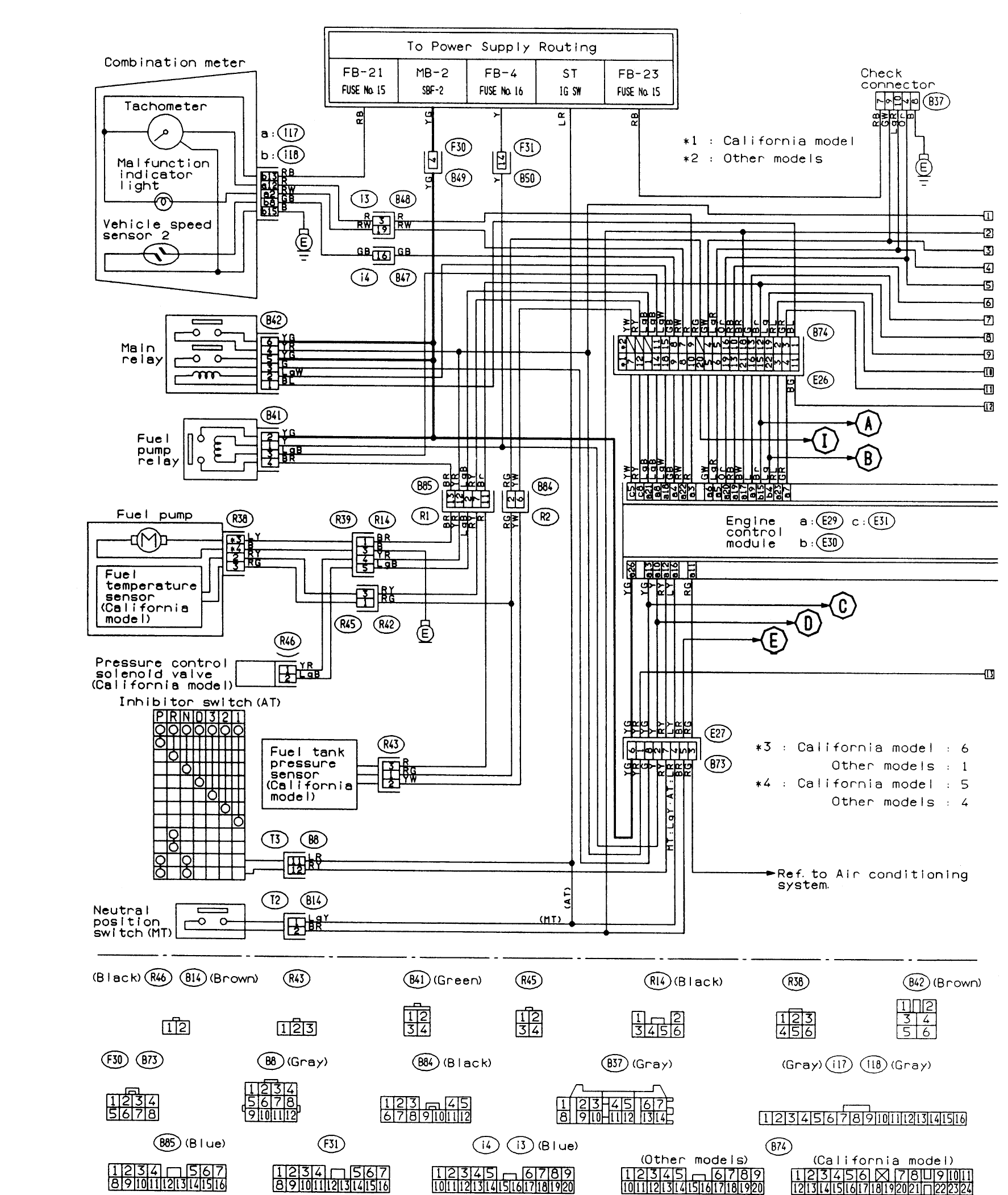 Peachy Electrical Diagram For Ac Unit In 2009 Subaru Forester Pinouts For Wiring Cloud Xortanetembamohammedshrineorg