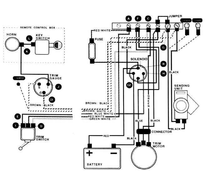 1977 bayliner wiring diagram boat ignition key wiring diagram  boat ignition key wiring diagram