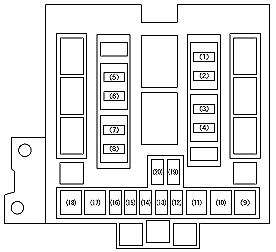 WY_0848] 04 Suzuki Forenza Fuse Box DiagramSple Timew Isop Phae Mohammedshrine Librar Wiring 101