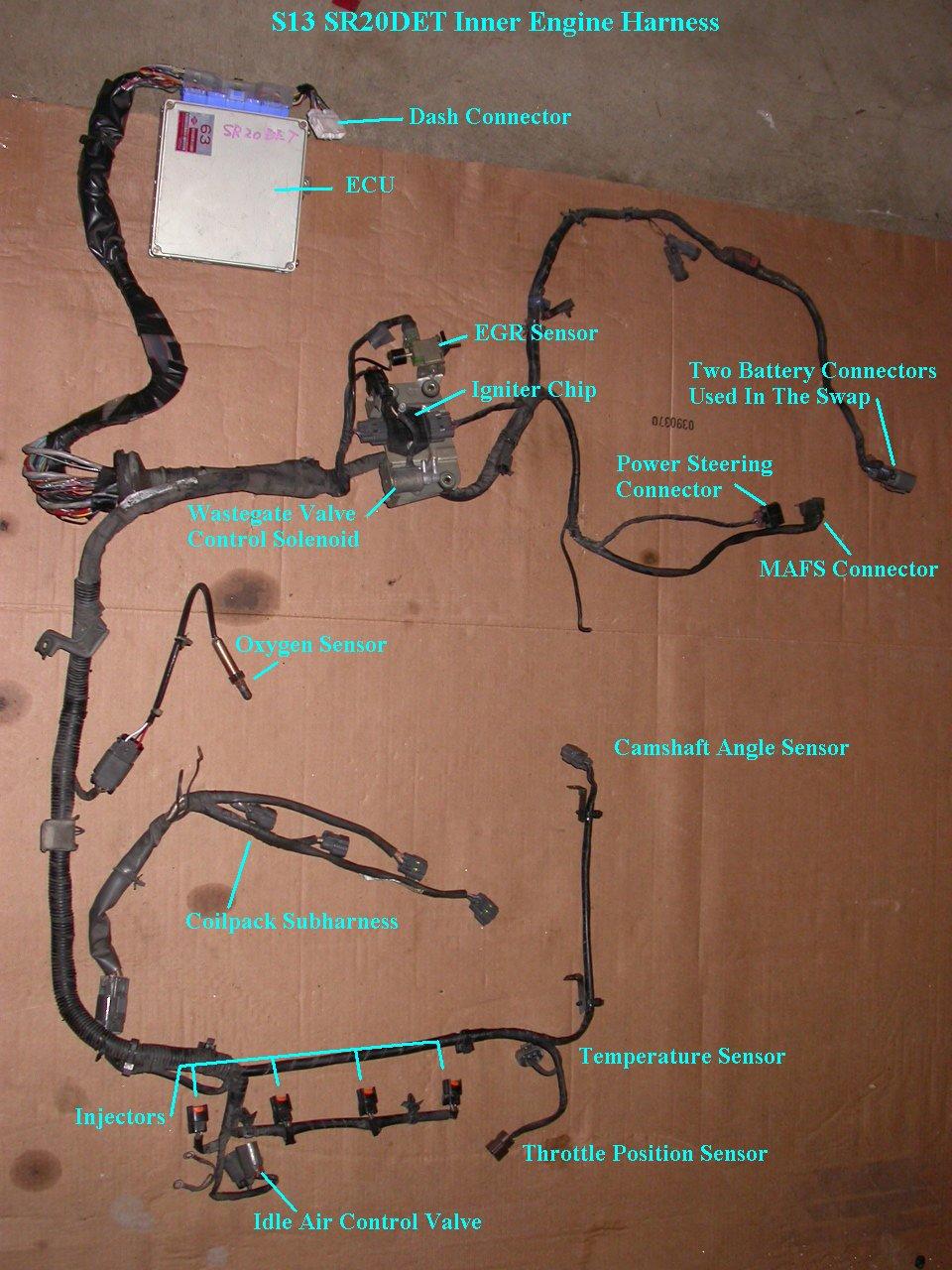 ED_9875] Sr20Det Engine Wiring HarnessBedr Sapebe Mohammedshrine Librar Wiring 101
