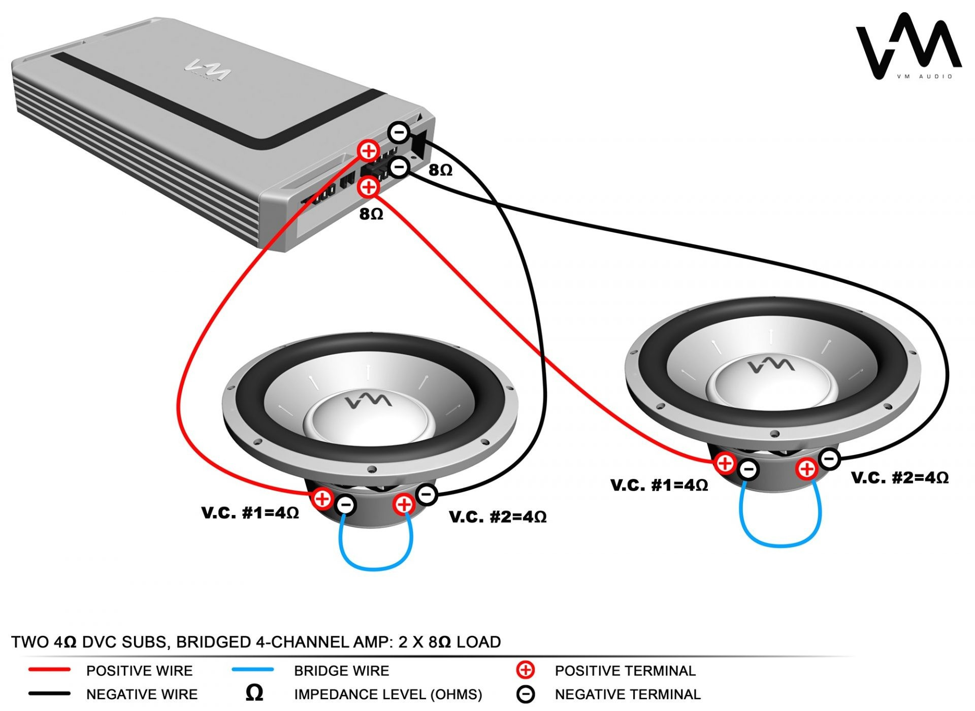KX_6845] Diagram Moreover Car Stereo Wiring Diagram Also How To Wire 4 Ohm  Dual
