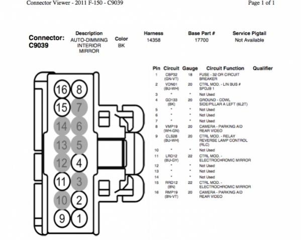 OW_0878] Ford Mirror Wiring Harness Oem Wiring DiagramHyedi Xtern Atota Osoph Xero Mohammedshrine Librar Wiring 101