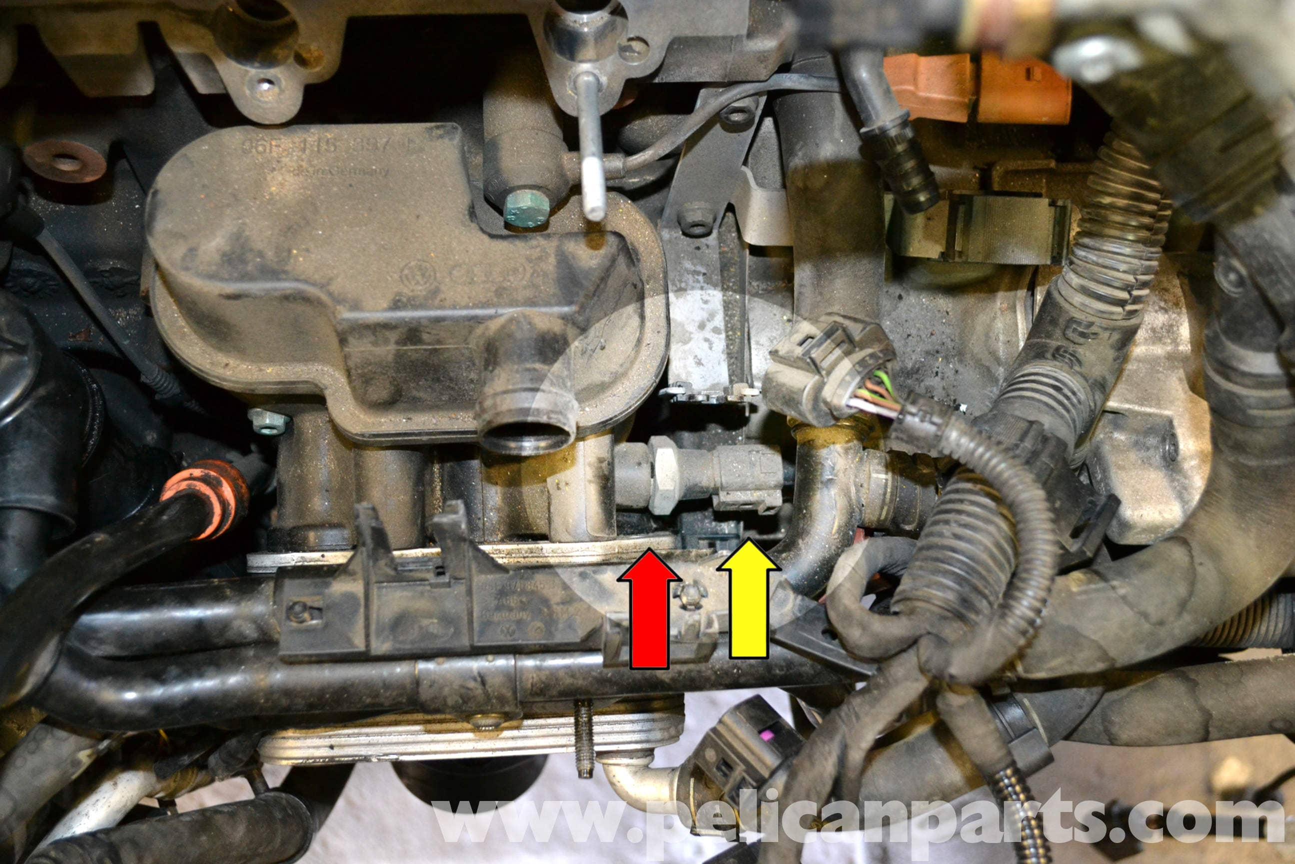 Fabulous Volkswagen Golf Gti Mk V Oil Pressure Switch Replacement 2006 2009 Wiring Cloud Overrenstrafr09Org