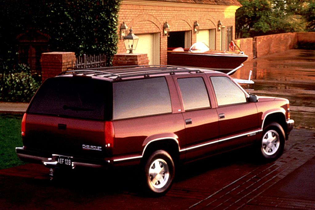 Brilliant 1992 99 Chevrolet Suburban Consumer Guide Auto Wiring Cloud Filiciilluminateatxorg