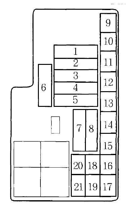 Phenomenal 97 Prelude Fuse Box Diagram Basic Electronics Wiring Diagram Wiring Cloud Mousmenurrecoveryedborg