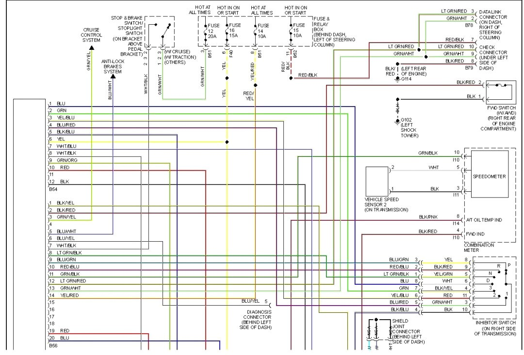 AC_9076] 2001 Subaru Wiring DiagramPlan Boapu Mohammedshrine Librar Wiring 101