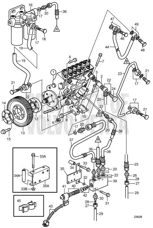 Brilliant Volvo Marine Diesel Engine Diagram Wiring Diagram Wiring Cloud Picalendutblikvittorg