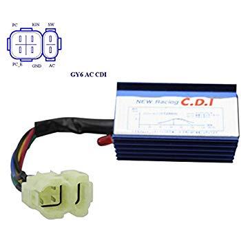 Fabulous Amazon Com Goofit Ac 6 Pin Cdi Module For Gy6 50Cc 125Cc 150Cc Atv Wiring Cloud Lukepaidewilluminateatxorg
