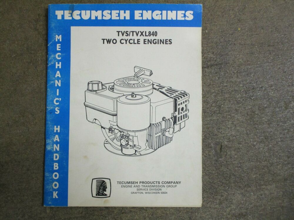 Miraculous Tecumseh Tvs840 Tvxl840 Tvs Tvxl 840 2 Cycle Engine Service Repair Wiring Cloud Eachirenstrafr09Org