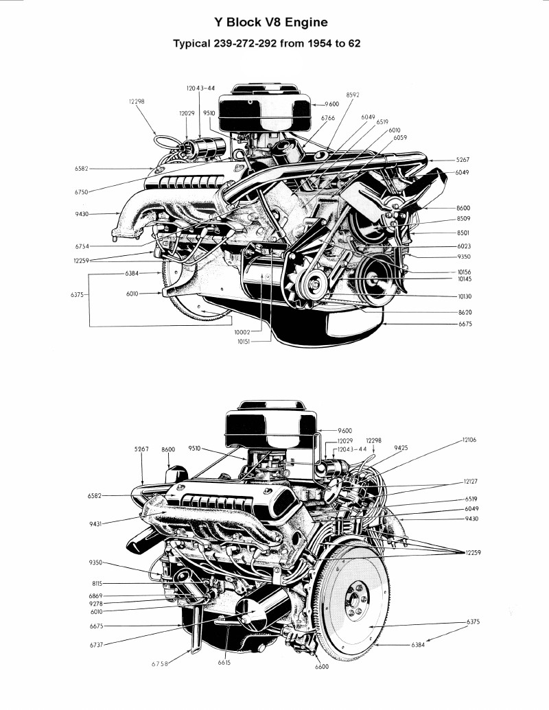SX_7225] Ford 292 Engine Diagram Wiring Diagram