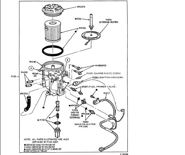 7 3 fuel filter assembly | bege wiring diagram  bege wiring diagram