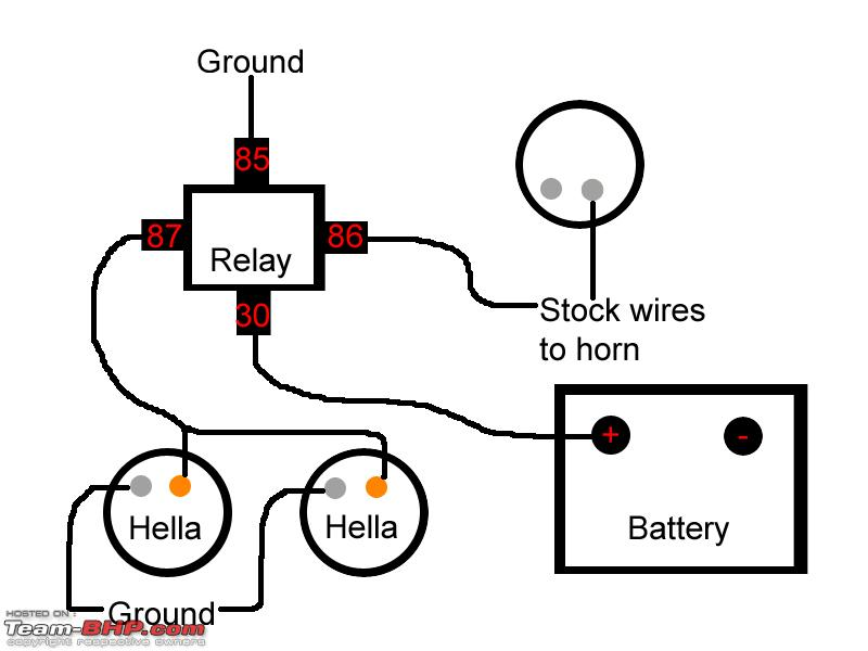 Ry 2383 Horn Relay Wiring Diagram In Addition Hella Horn Relay Wiring Diagram Schematic Wiring