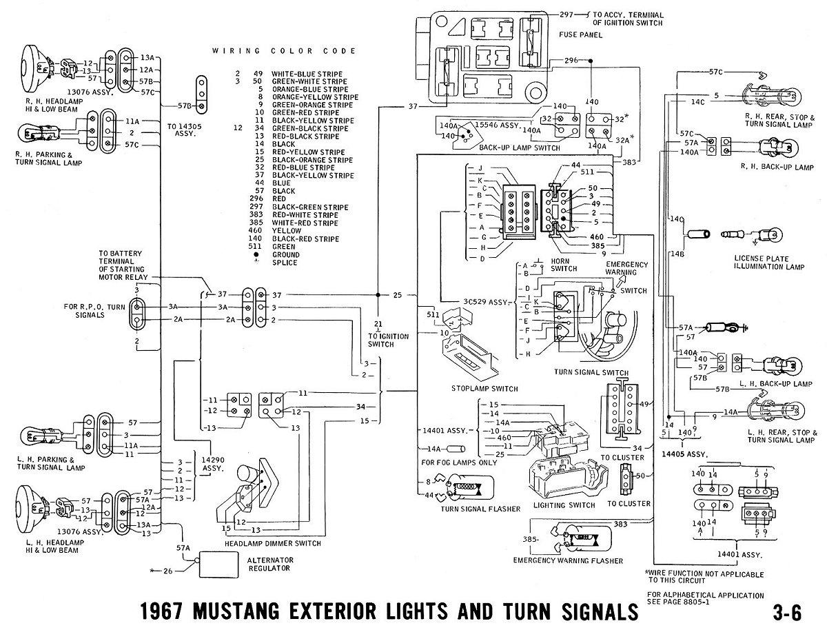 Awesome 1967 Ford Mustang Wiring Diagrams Wiring Diagram Wiring Cloud Ymoonsalvmohammedshrineorg
