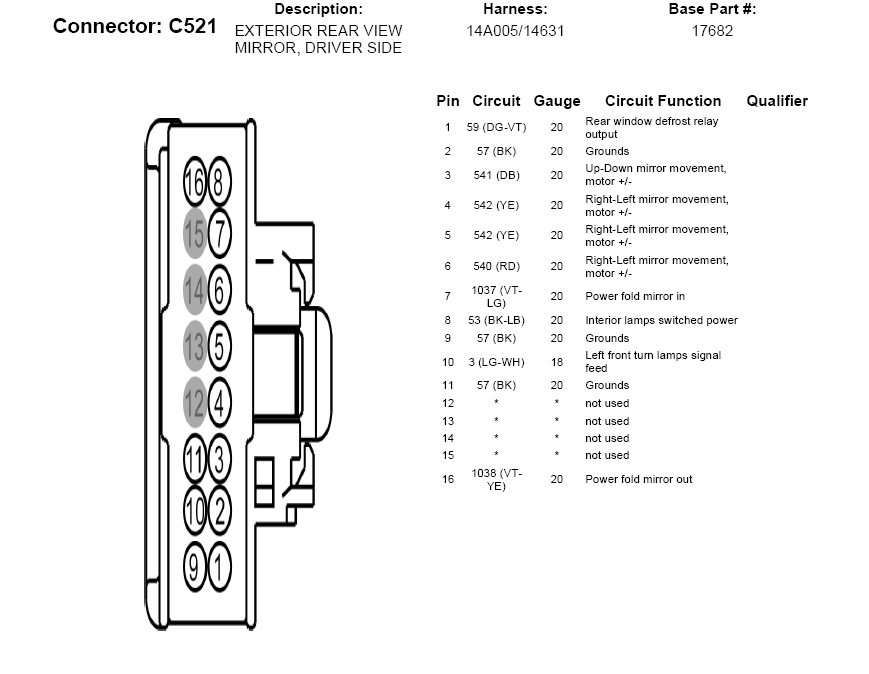 Pleasant 2013 Ford F150 Power Mirror Wiring Kit Power Window Wiring Diagram Wiring Cloud Ymoonsalvmohammedshrineorg