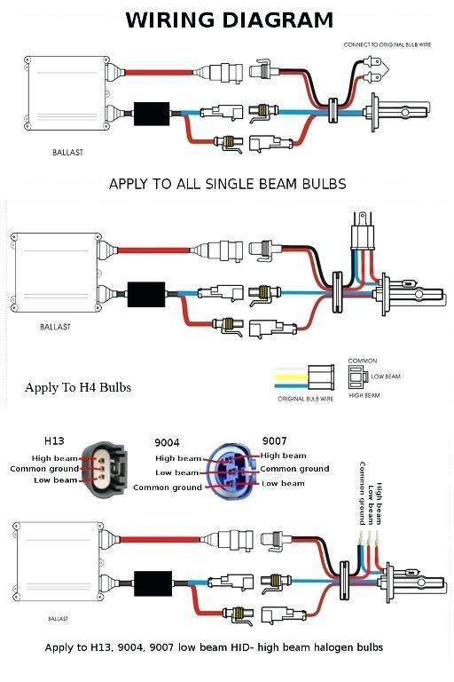 Hid Lamp Wiring Diagram