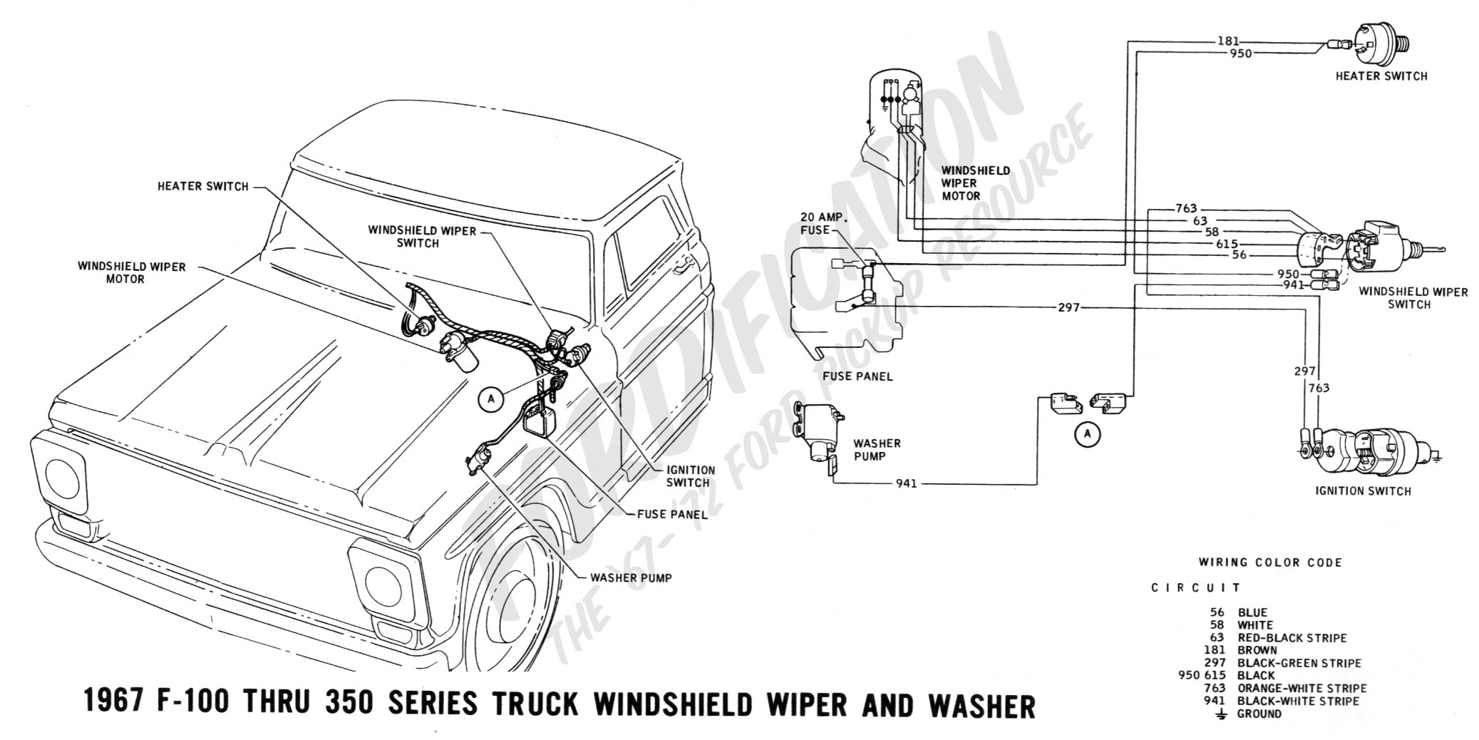Brilliant 1966 Ford F100 Wiring Schematic Wiring Diagram Tutorial Wiring Cloud Cranvenetmohammedshrineorg